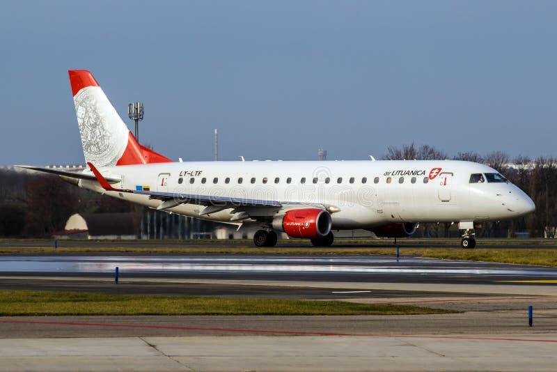 Lotniczy Lituanica zdjęcia royalty free