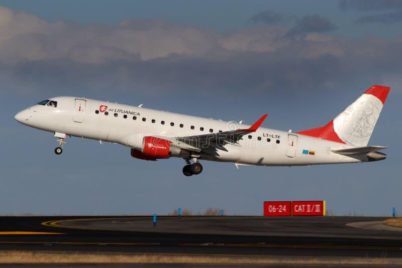 Lotniczy Lituanica obrazy stock