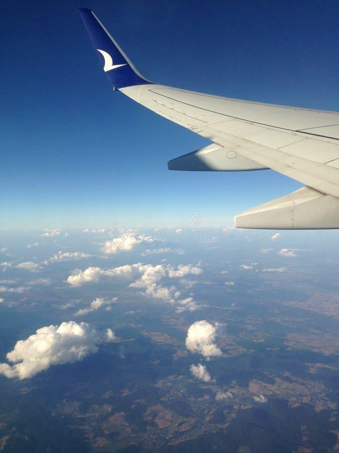 Lotniczy lota wakacje obrazy royalty free