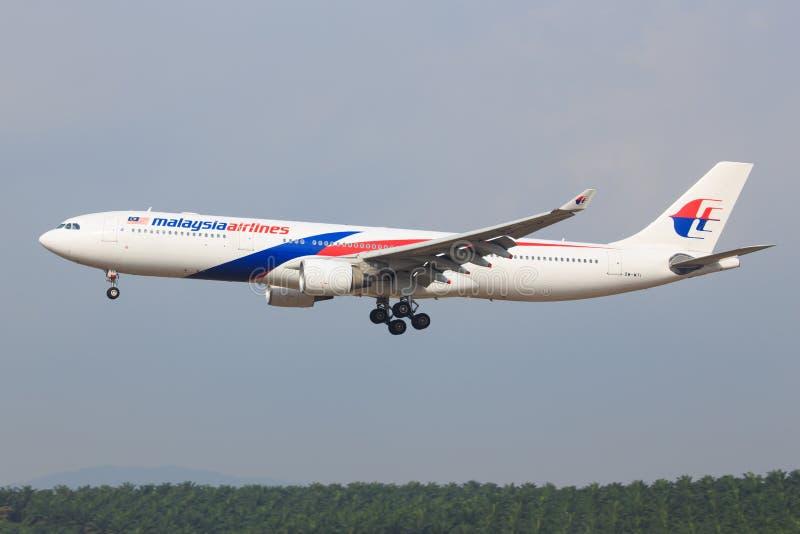 Lotniczy Malezja fotografia royalty free