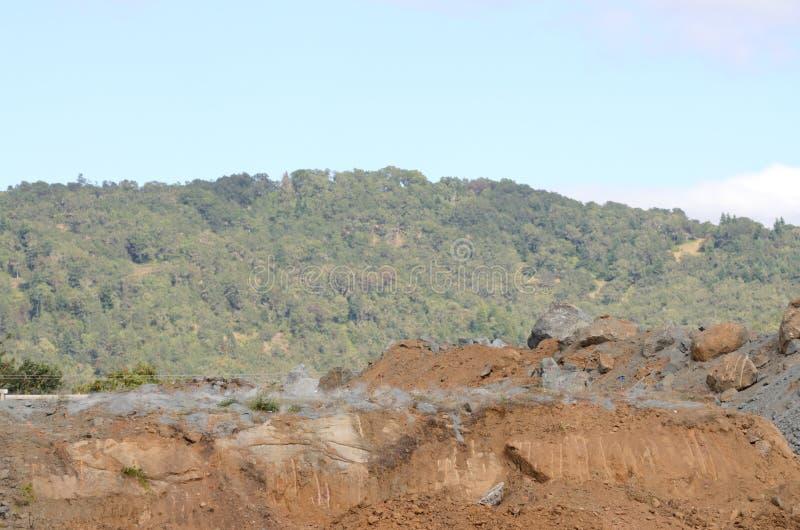 Lotniczy wzgórze wybuch 4 obrazy stock