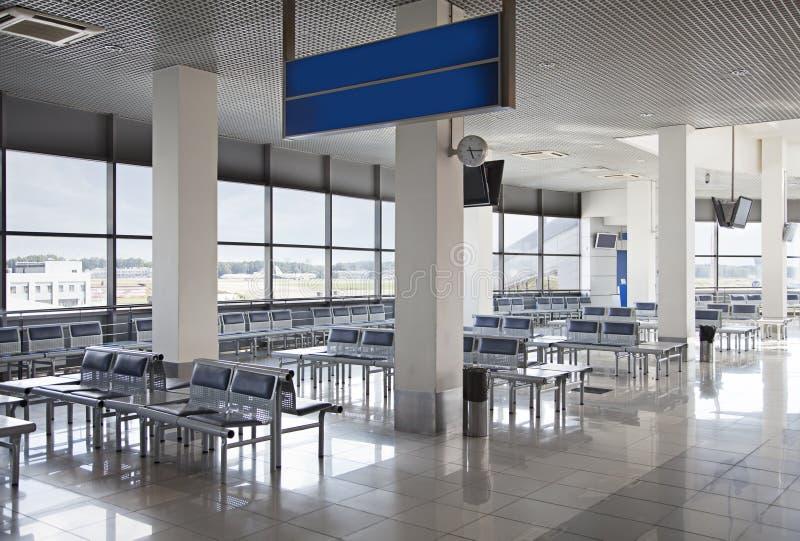 lotniska pusty sala czekanie zdjęcie royalty free