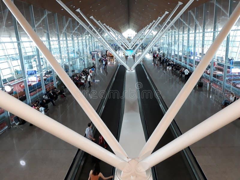 Lotnisko, JAN17 2017 fotografia royalty free