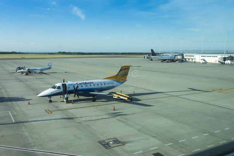 Lotnisko Kingston, Jamajka obrazy royalty free