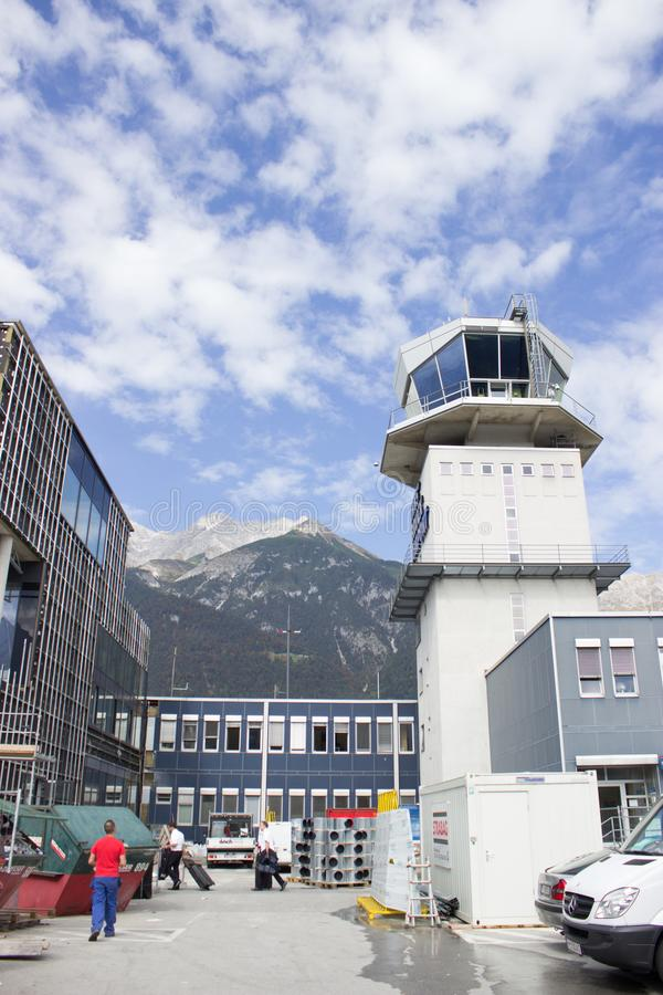 Lotnisko w Austria zdjęcie stock