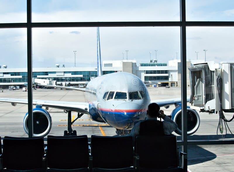 lotniskowa podróż obraz stock