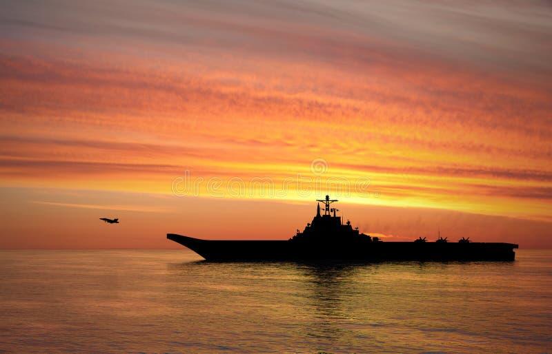 Lotniskowa przewożenia Ciężki krążownik fotografia stock