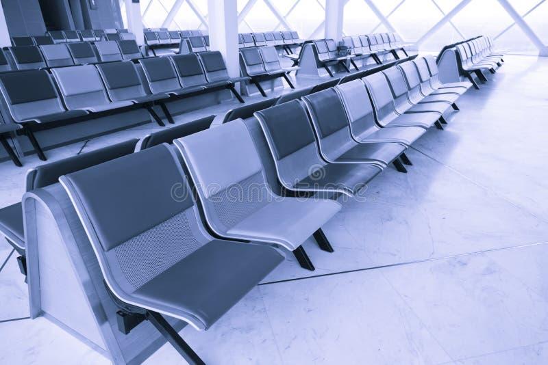 Lotniskowego Terminal czekania hol zdjęcia stock