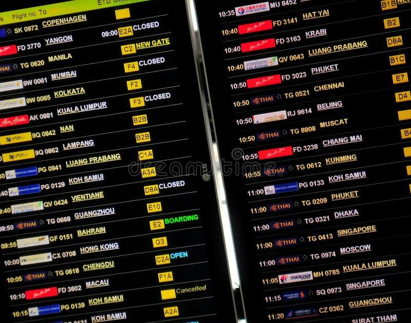 lotniskowi loty obrazy royalty free