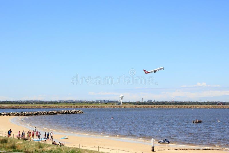 lotniskowy żywy Sydney obrazy royalty free