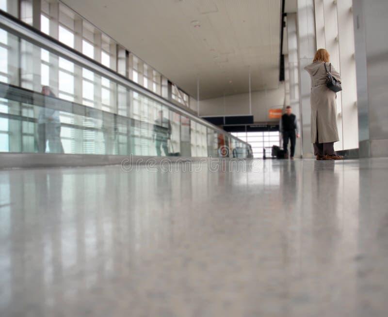 lotniskowy concourse obraz royalty free