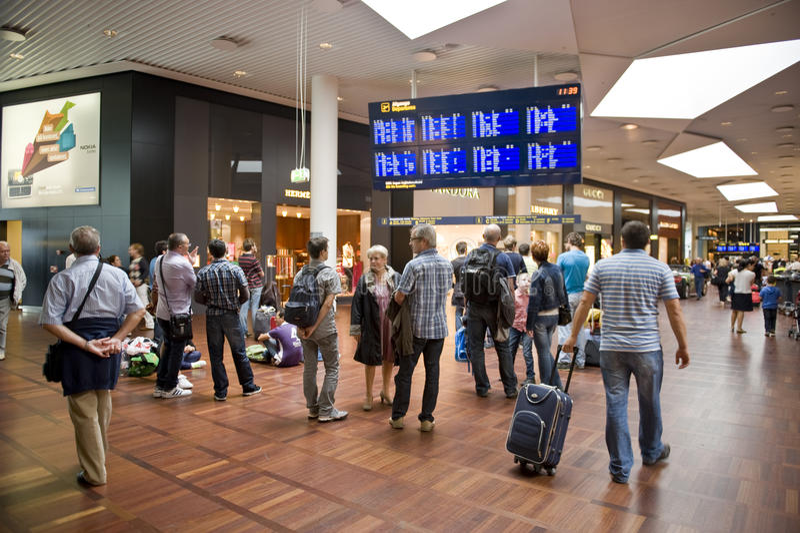 lotniskowy Copenhagen zdjęcia royalty free