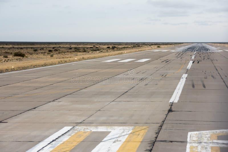 Lotniskowy lądowanie i zdejmował strefę obrazy royalty free