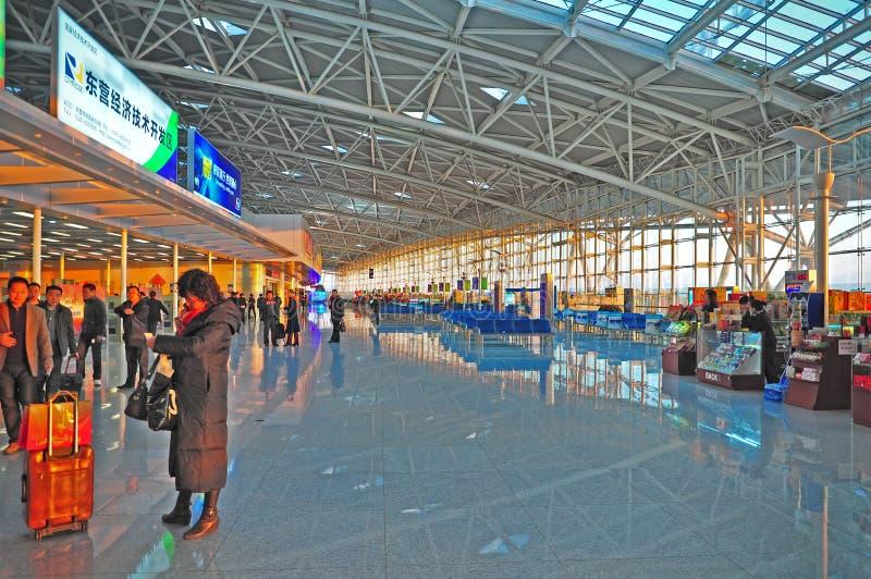 lotniskowy porcelanowy międzynarodowy Jinan obraz royalty free