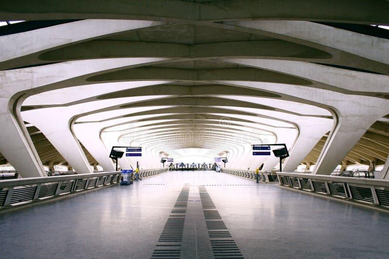 Lotniskowy przejście obraz royalty free