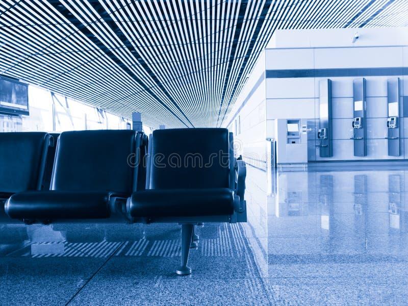 lotniskowy terenu odjazdu terminal zdjęcie stock