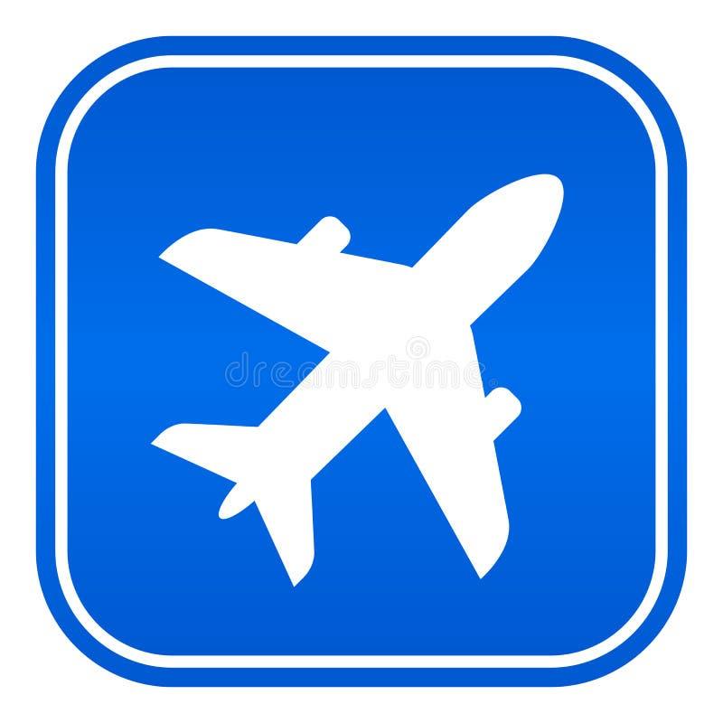 Lotniskowy wektoru znak royalty ilustracja