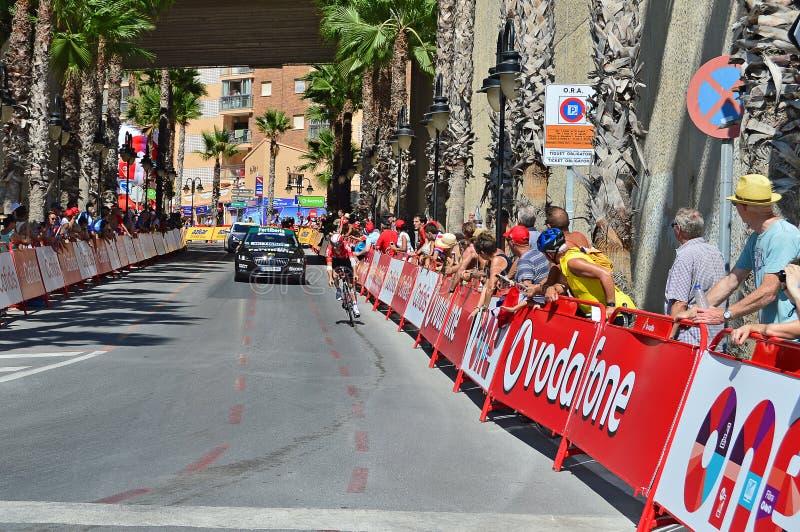 Download Loto D'essai Soudal De Temps De Vuelta Espana De La Photographie éditorial - Image du casque, vélos: 77159462