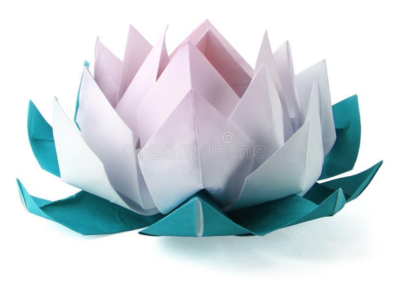 Loto di Origami immagine stock
