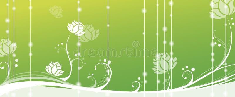 Loto en fondo verde libre illustration