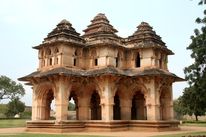 Loto Mahal en Hampi imagenes de archivo