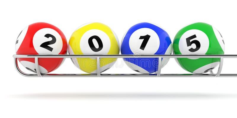 loto van 2015 vector illustratie