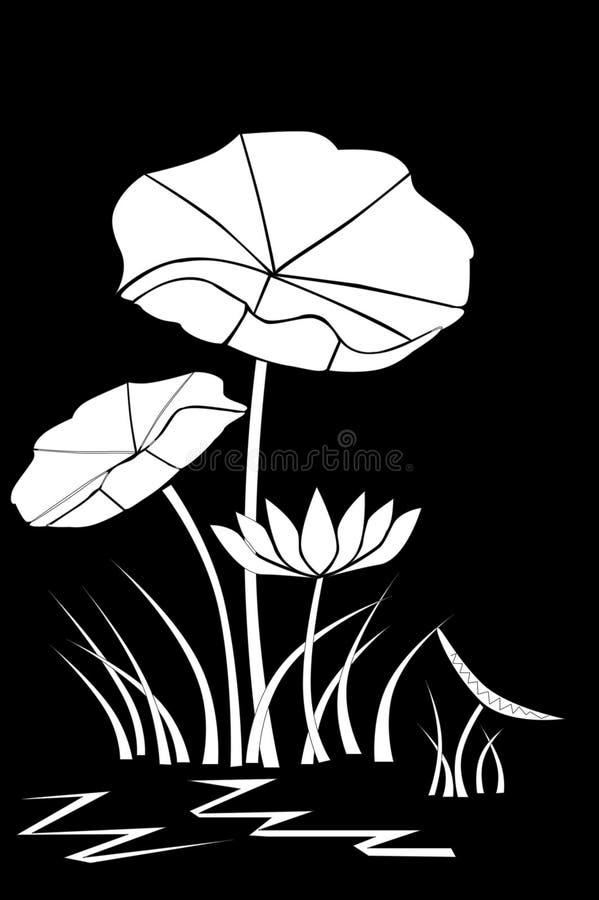 lotos ilustracja wektor