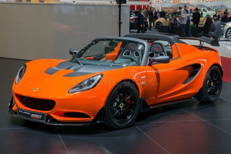 Lotosowy Elise filiżanki 250 sportów samochód obraz royalty free