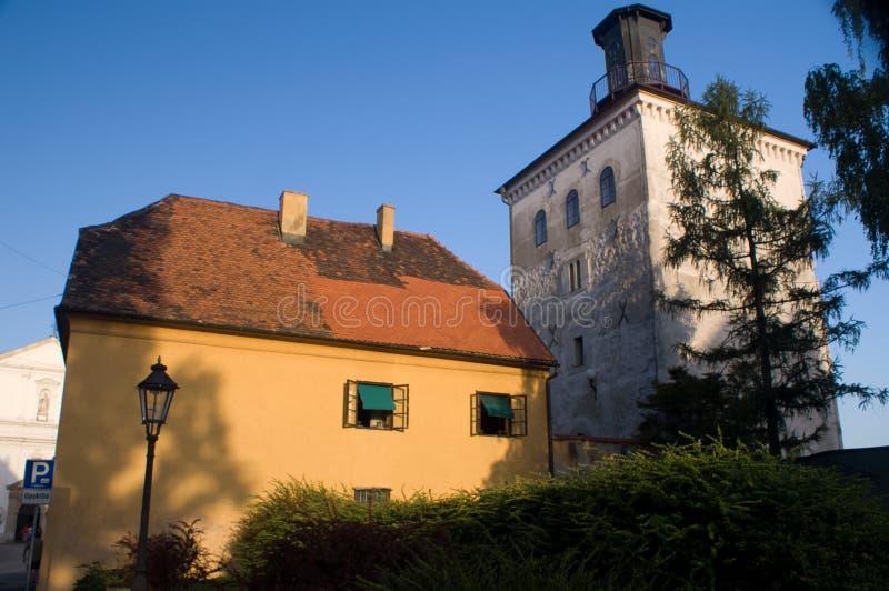 Lotrscak, Zagreb Croatie images libres de droits