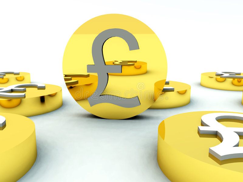 Download Lots Of British Pound Coins 4 Stock Image - Image: 5607171