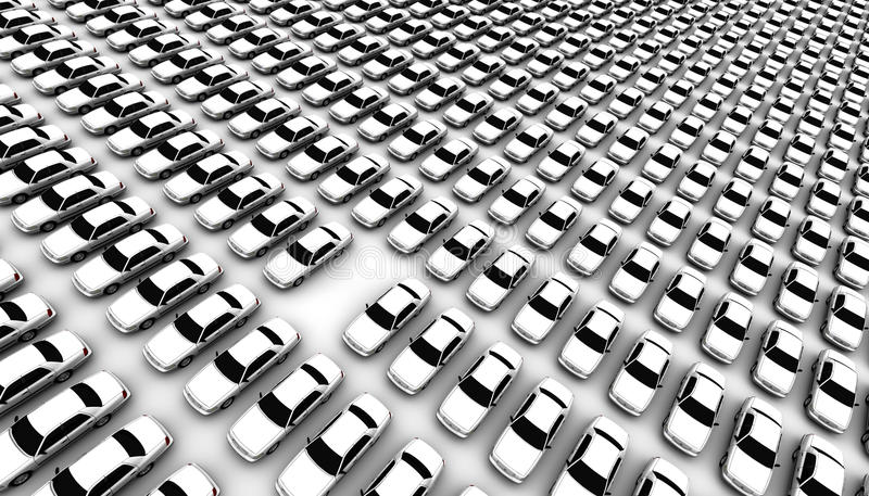 Download Lots of Cars, One Missing stock illustration. Image of choice - 16493920