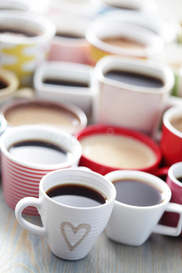 Lots of coffee!