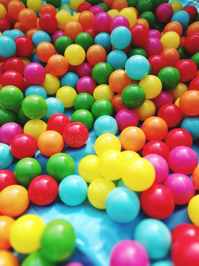 Colourful toys royalty free stock image