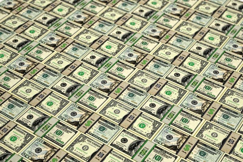Download Lots of Dollar bills stock illustration. Image of millionaire - 32925623