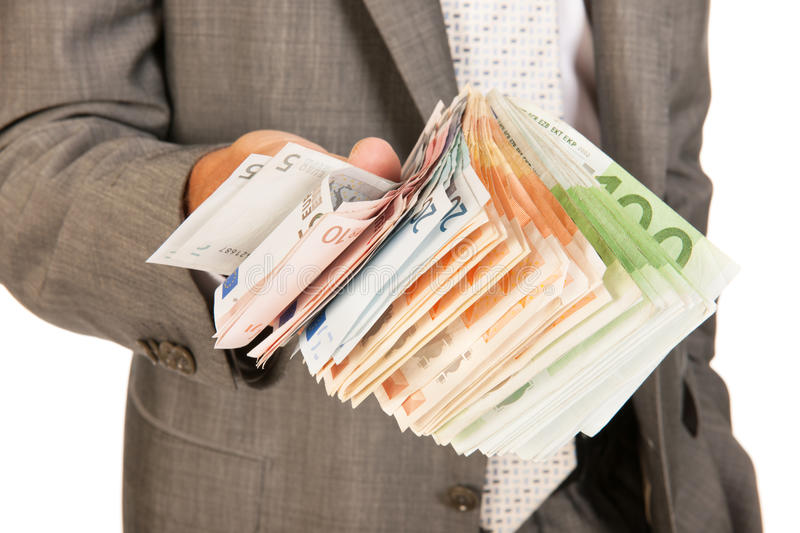 Lots Of Euro Money Stock Image