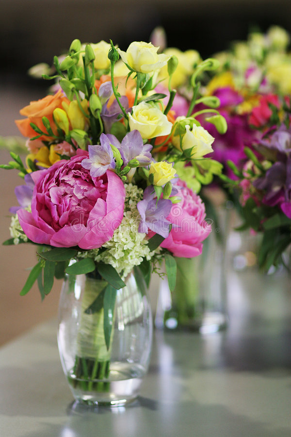 Lots of flowers royalty free stock photography
