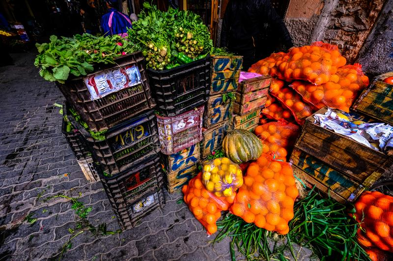 Lots of Fruits and Vegetables royalty free stock photo