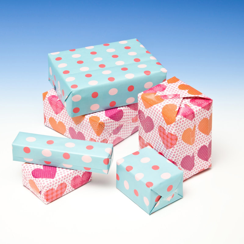Lots of Gifts royalty free stock photos