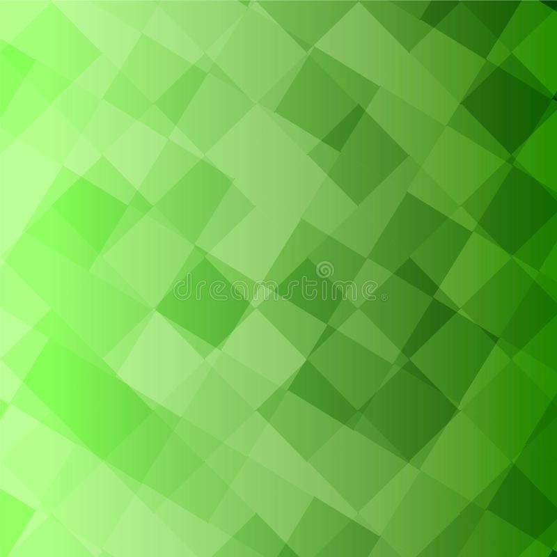 Lots of green squares vector Background. Pink squares Vector Background Orange Circle Refreshing light shine yellow unclear Cloudy triangle Red purple square stock illustration