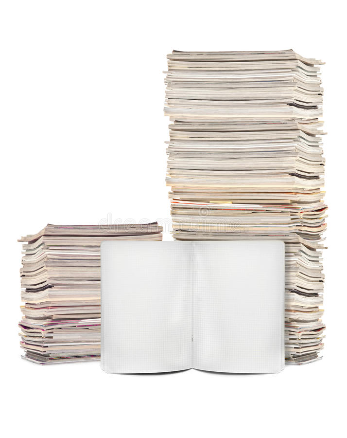 Download Lots Of Magazines And Exercise Book Stock Photo - Image: 29319162