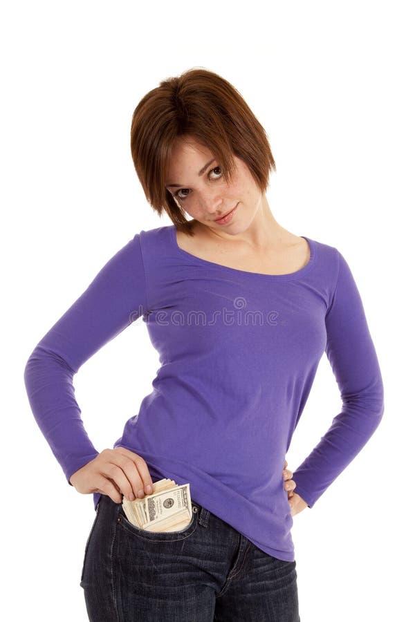Lots of money pocket stock photos