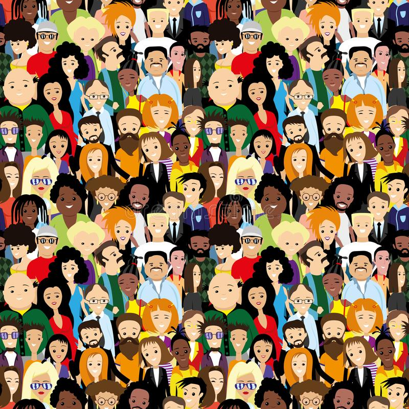 Free Lots Of Diverse People. Royalty Free Stock Image - 119265486