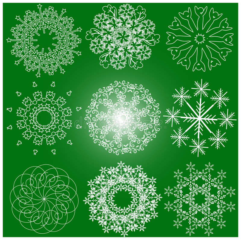 Free Lots Of Snowflake Stock Images - 3402424