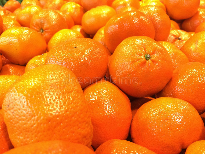 Lots of oranges stock image