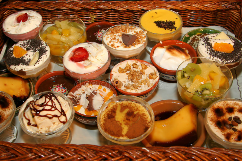 Download Lots of small desserts stock image. Image of delicious - 3874447