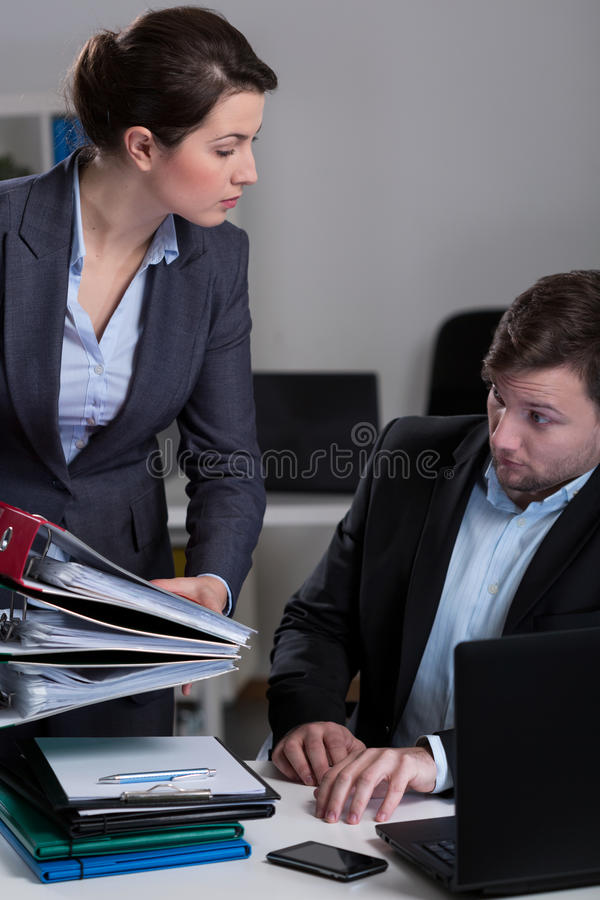 Lots of work royalty free stock photos