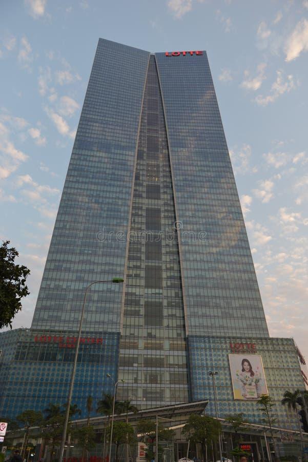 Lotte center Hanoi, Vietnam stock photography