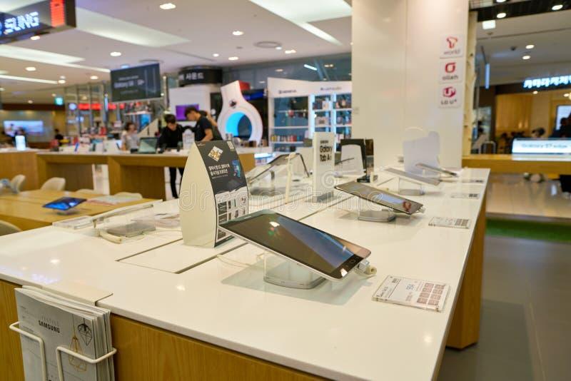 Lotte Department Store fotos de archivo libres de regalías