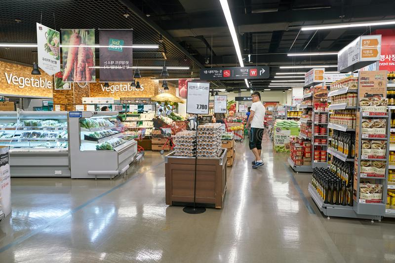 Lotte Mart stock foto's