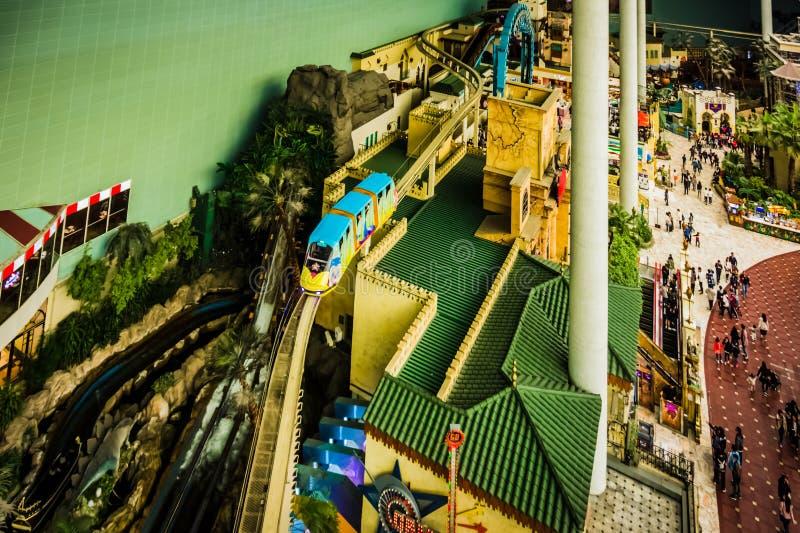 Lotte World Adventure - Vogelperspektive stockfoto